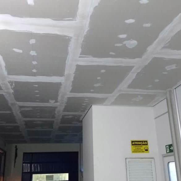Venda com Instalação de Forro Drywall Acústico Preço da 2M Divisórias