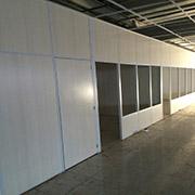 Divisórias de Eucatex e drywall da 2M Divisórias