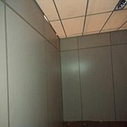 Teto de isopor da 2M Divisórias