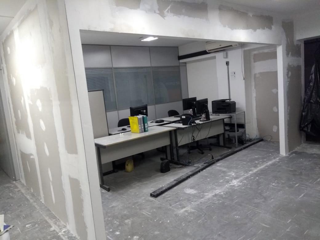 Venda com Instalação de Divisórias Drywall