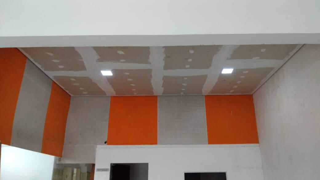 Venda com Instalação de Forro Drywall Acústico