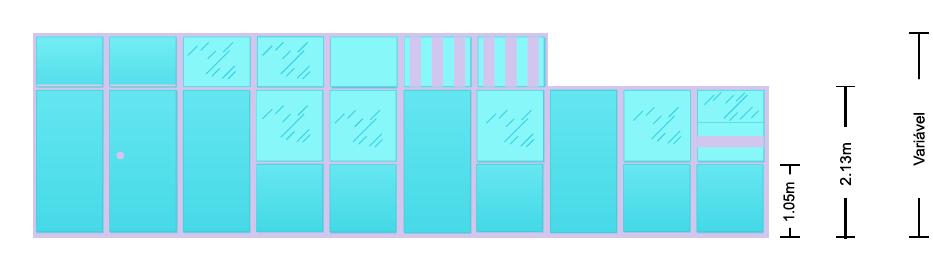 Tipos de Divisórias da 2M Divisórias